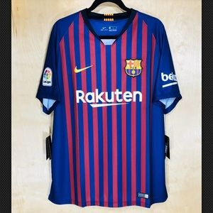 NWT Nike Men's 2018 FC Barcelona Home Jersey
